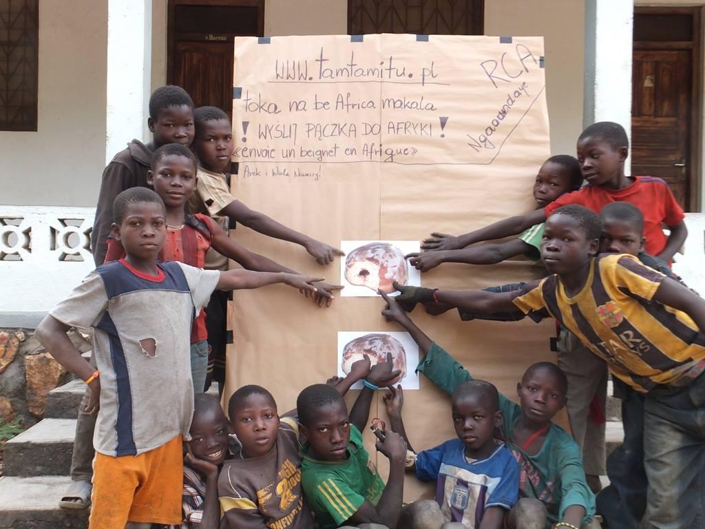 Pączkowa akcja misjonarzy w Republice Środkowoafrykańskiej