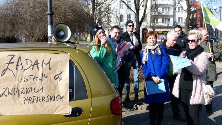 Manifa na ulicach Szczecina [WIDEO]