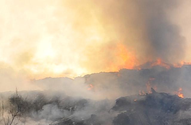 80 pożarów w ciągu jednego popołudnia