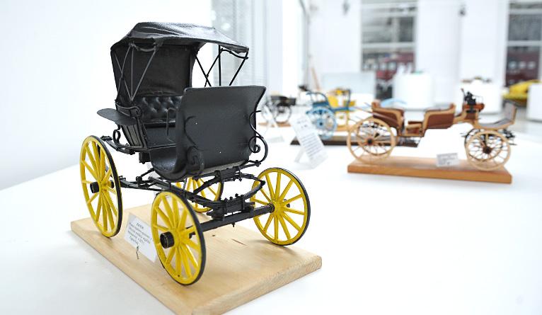 Nowa atrakcja w Zajezdni Sztuki. Można zobaczyć historyczne pojazdy w miniaturze [ZDJĘCIA]