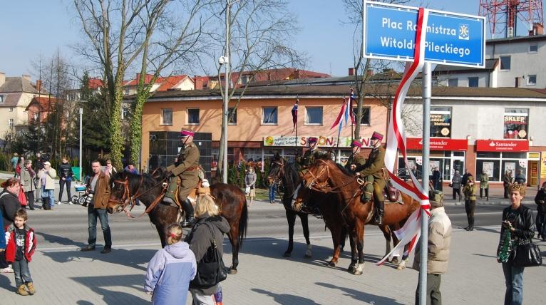Mieszkańcy Goleniowa uhonorowali rotmistrza Pileckiego [ZDJĘCIA]