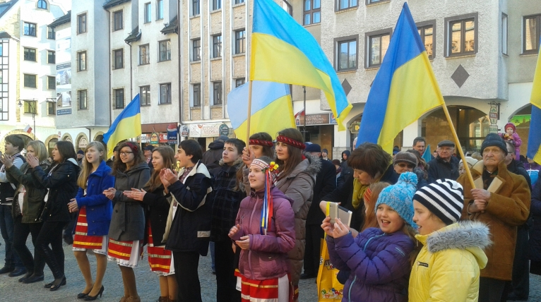 Kołobrzeg solidarny z Ukrainą