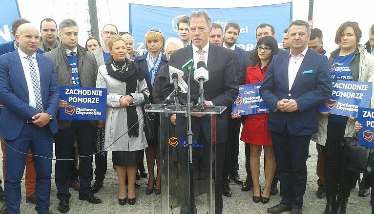 Eurosceptycyzm to jedno z największych zagrożeń dla wspólnej Europy - powiedział Dariusz Rosati podczas wizyty w Kołobrzegu. Fot. Mariusz Wolański [Radio Szczecin]