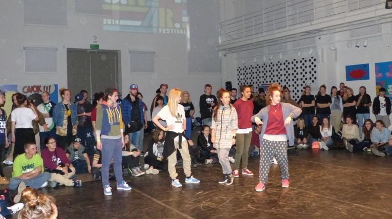 Festiwal tańca w Szczecinie