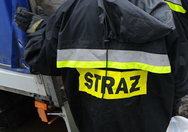 Maluch ze Szczecinka zaklinował się w wirówce. Interweniowali strażacy