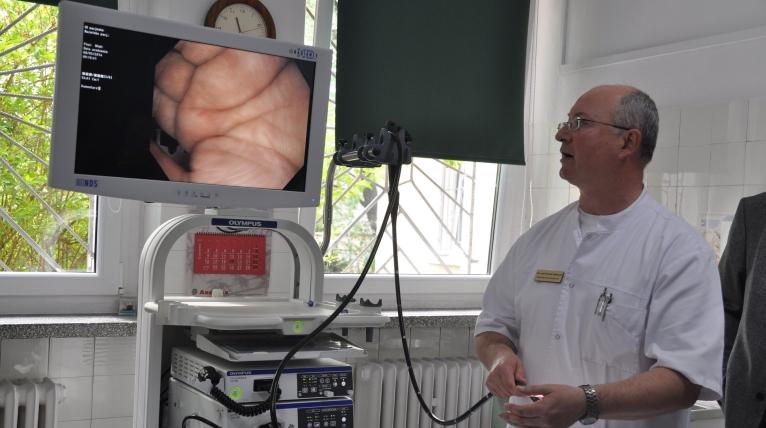 Szpital w Goleniowie z nowoczesnym endoskopem