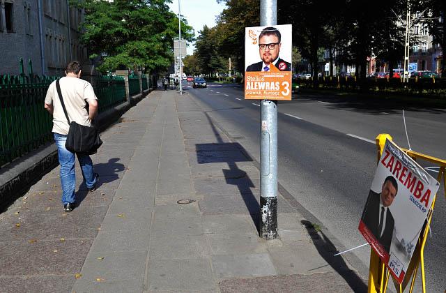 Kary za plakaty wyborcze wciąż niezapłacone. Szczecińskie komitety nadal winne 40 tysięcy