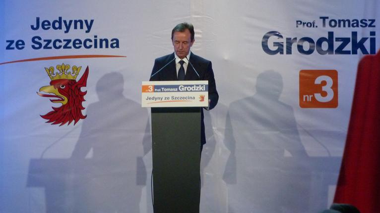 """Minister, genetyk i prezes Pogoni na konwencji Grodzkiego. """"Ważne, że to kandydat ze Szczecina"""""""