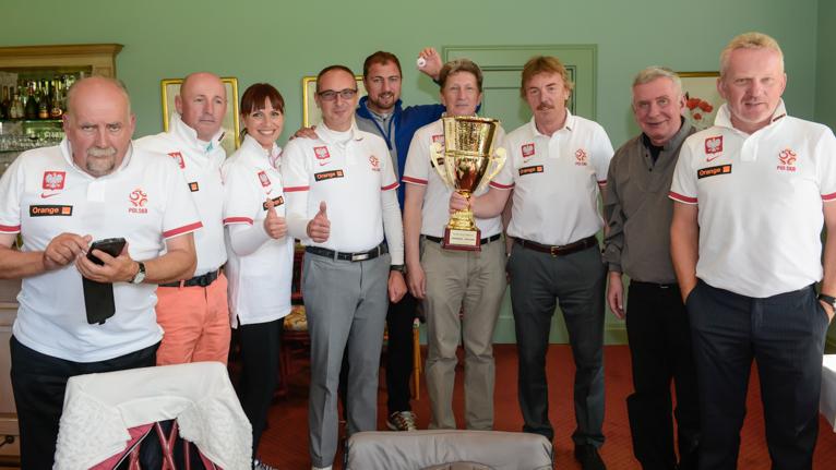 Polacy wygrali z Niemcami. Na razie w golfa