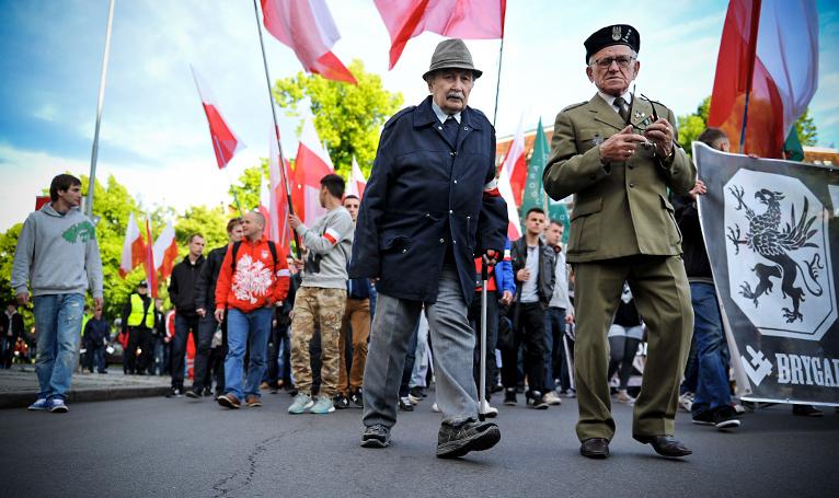 Marsz Rotmistrza Pileckiego przeszedł ulicami Szczecina [ZDJĘCIA, WIDEO]