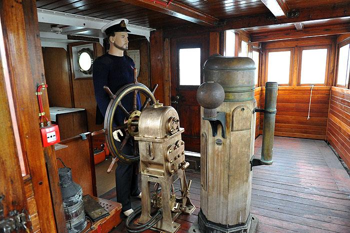 Laury Bałtyku dla działacza i twórców muzeum na statku