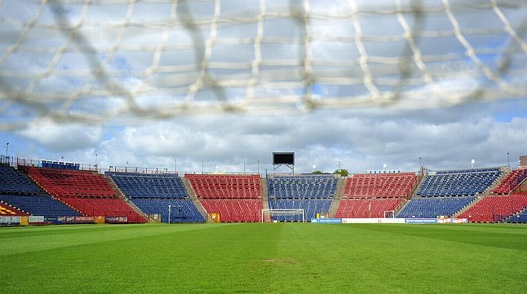 Lepsi okazali się piłkarze z Lasku Arkońskiego i wygrali na Twardowskiego 2:1. Fot. Łukasz Szełemej [Radio Szczecin/Archiwum]