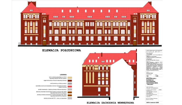Rusza remont kampusu Uniwersytetu Szczecińskiego. Fot. mat. Inwestora