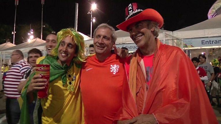 Holandia i Argentyna - to kolejni półfinaliści piłkarskich mistrzostw świata w Brazylii. Fot. SNTV/x-news