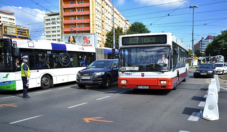 Zmalały korki w Szczecinie. Kierowcy byli wściekli [NOWE]