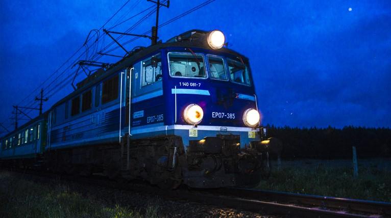 """Kłopoty pasażerów pociągu """"Przemyślanin"""""""