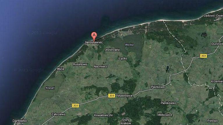 Wiatrakowiec wpadł do Bałtyku. Pilot nie żyje