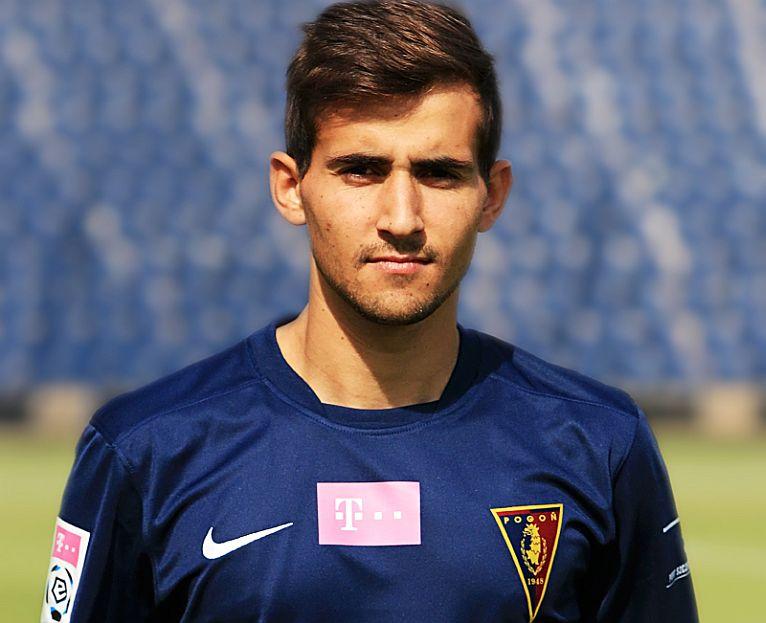 Bruno Loureiro nowym piłkarzem Pogoni Szczecin. Zawodnik ma 24 lata i jest Portugalczykiem. Fot. pogonszczecin.pl