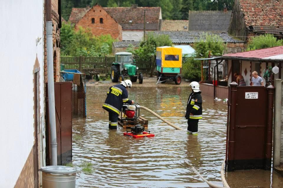 Cedynia i Pniewo zalane