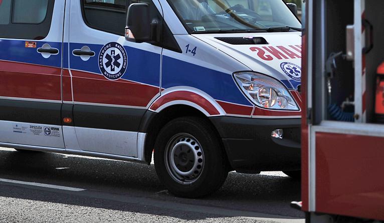 Wypadek na placu Odrodzenia. Auto potrąciło rowerzystę