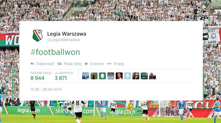 """""""Piłka nożna wygrała"""", Legia triumfuje po odpadnięciu Celticu"""