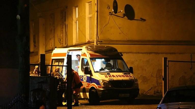 Poszkodowani w pożarze w Cedyni zostają w szpitalach
