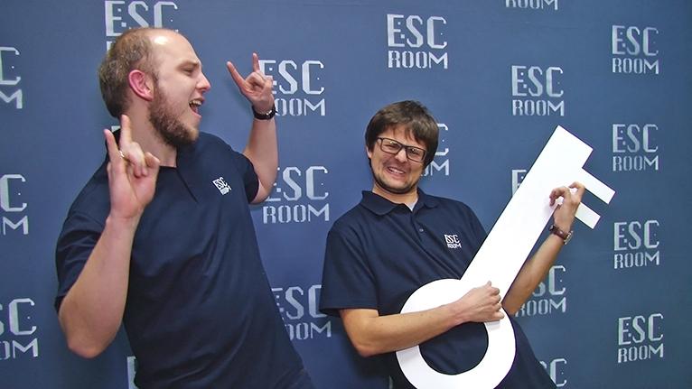 W centrum Szczecina powstały dwa punkty popularnej na świecie gry Escape Room. Fot. Piotr Sawiński [Radio Szczecin]