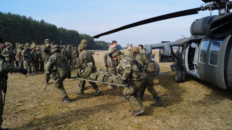 Żołnierze NSR na poligonie w Drawsku [ZDJĘCIA]