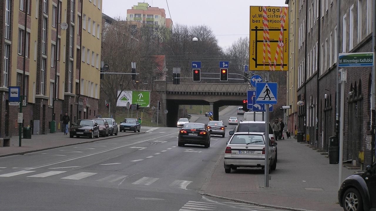 Zmiany organizacji ruchu w okolicach ulicy Warcisława w Szczecinie