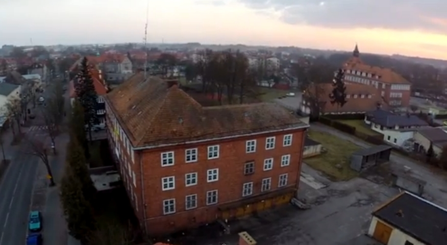 Budynek starej komendy w Szczecinku sprzedany [WIDEO]