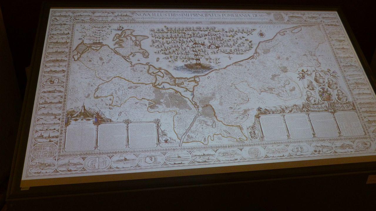 Szczecinianie poznawali tajemnice najciekawszej mapy Księstwa Pomorskiego
