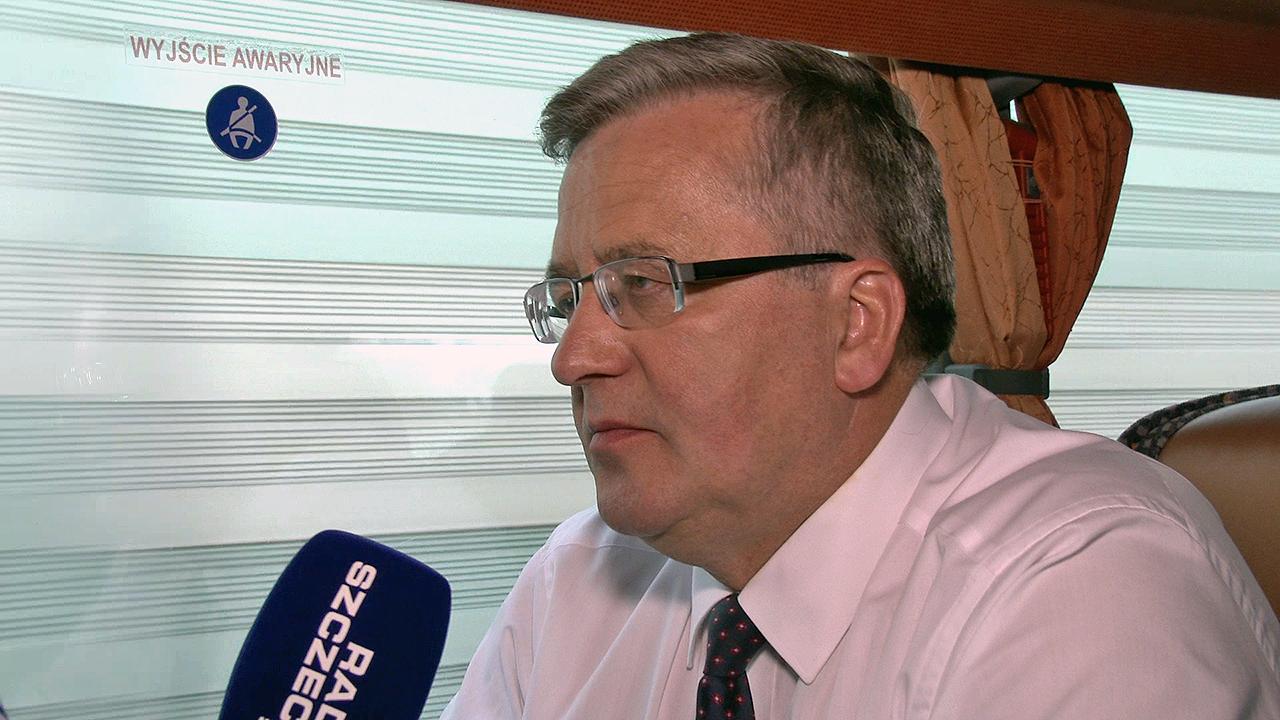 """Prezydent w Radiu Szczecin: """"Nominacja w przyszłym tygodniu"""""""
