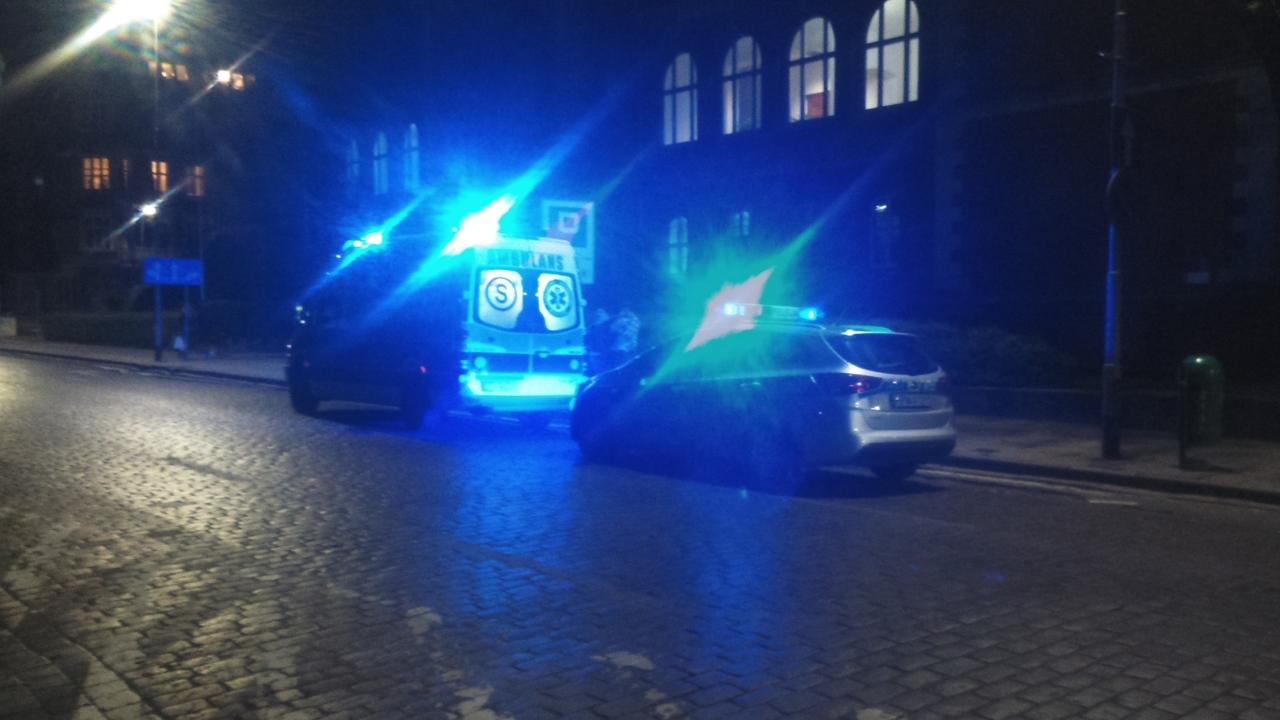 Akcja ratunkowa w centrum Szczecina