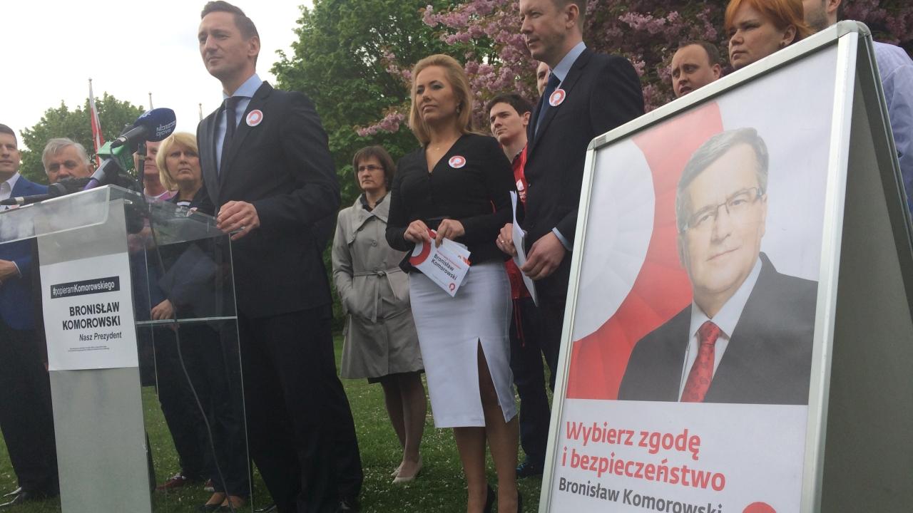 Działacze PO podsumowali kampanię Bronisława Komorowskiego