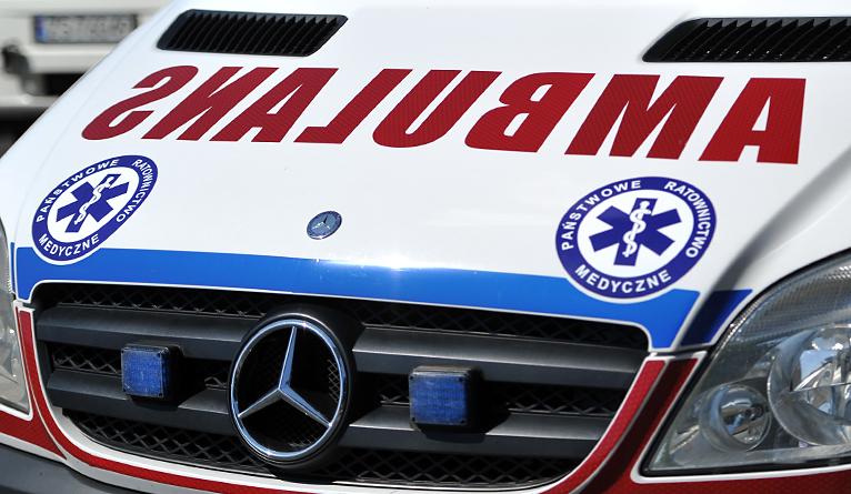 Wypadek na Trasie Zamkowej. Kobieta w ciąży trafiła do szpitala