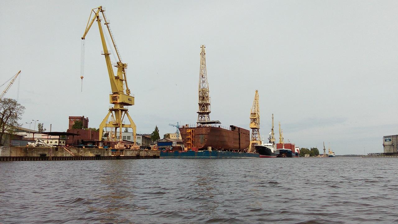 Wielkie konstrukcje w drodze do Gdańska