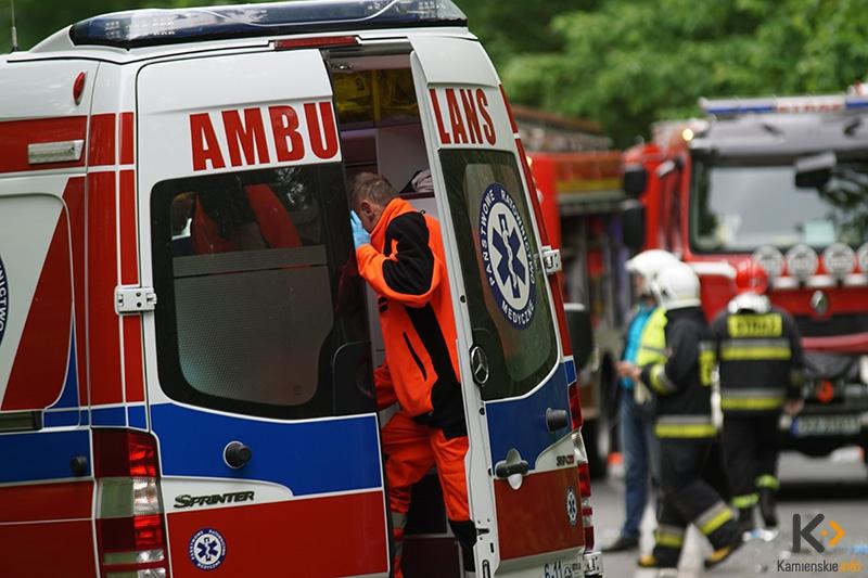 Wypadek niedaleko Kołczewa. Jedna osoba nie żyje