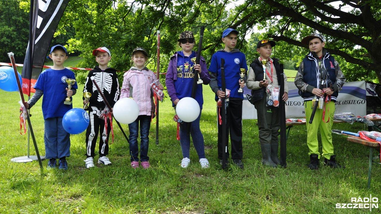 Najmłodsi wędkowali na zawodach