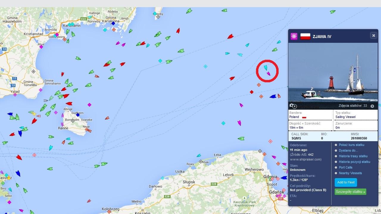 Kolejny polski jacht potrzebuje pomocy na morzu