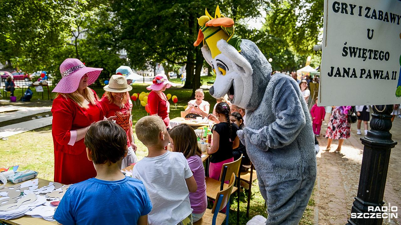 Bajkowe miejsce w centrum Szczecina. Studenci pomagają dzieciom [WIDEO, ZDJĘCIA]