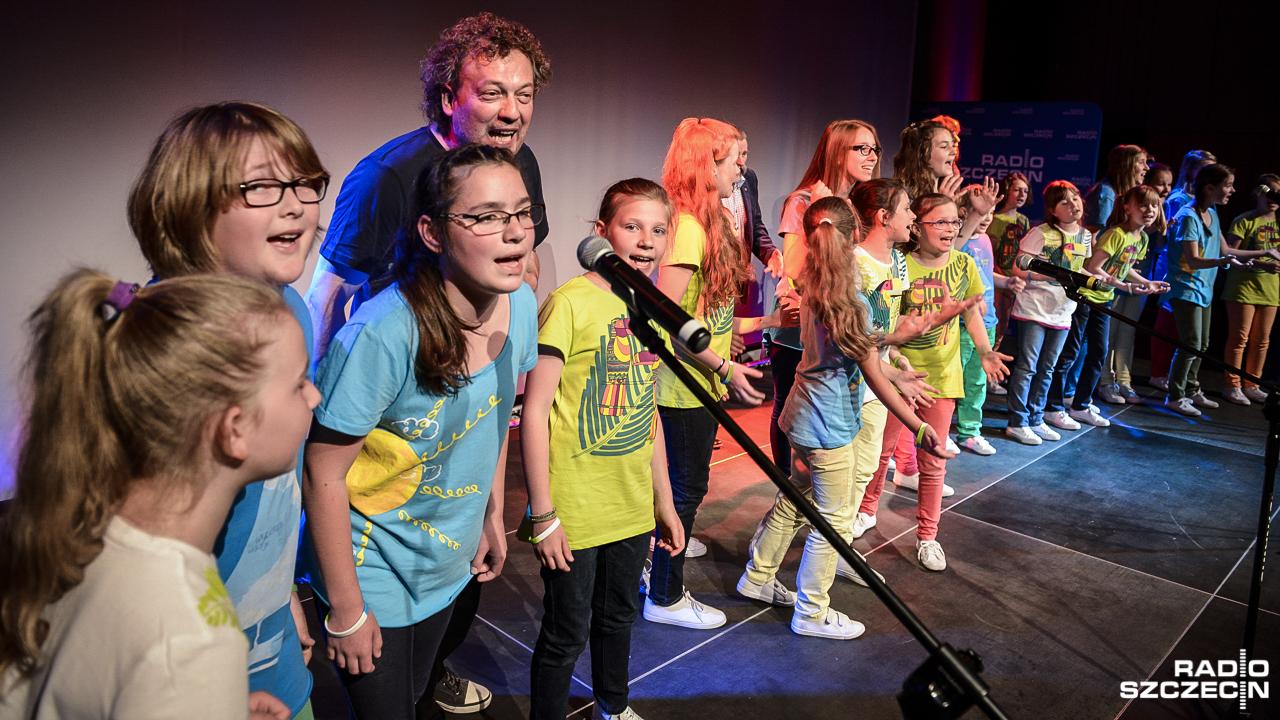 Maluchy zaśpiewały dla ojców w Radiu Szczecin [ZDJĘCIA]