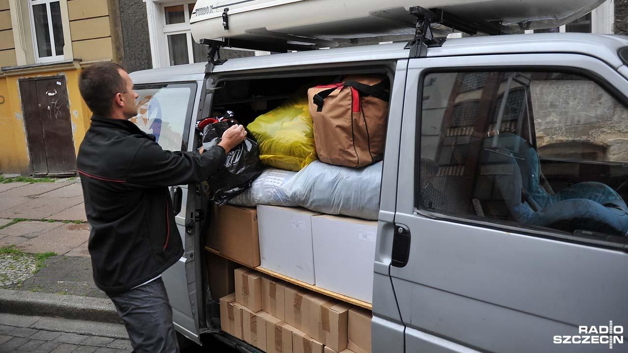 Szczecin wysyła dary na Ukrainę [ZDJĘCIA, WIDEO]