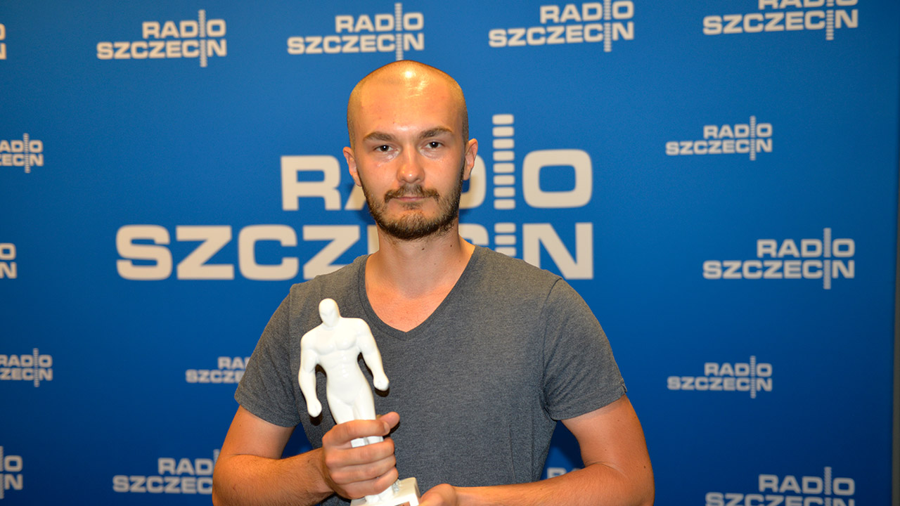 Mateusz Żegliński. Fot. Maciej Myszkowiak [Radio Szczecin/Archiwum]