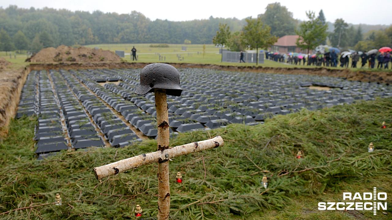 Pogrzeb żołnierzy Wehrmachtu [ZDJĘCIA]