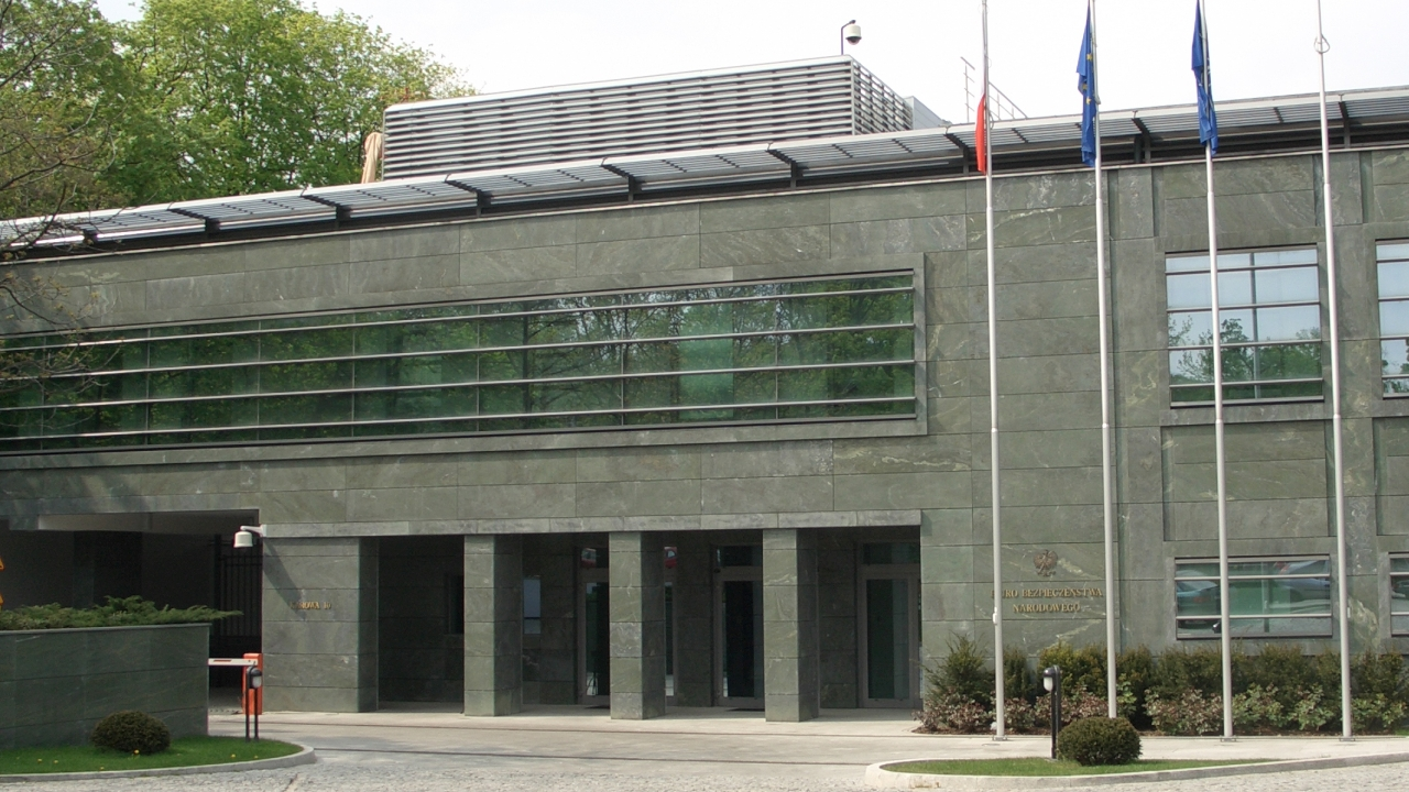 Biuro Bezpieczeństwa Narodowego w Warszawie. Fot. www.wikipedia.org / Adamon
