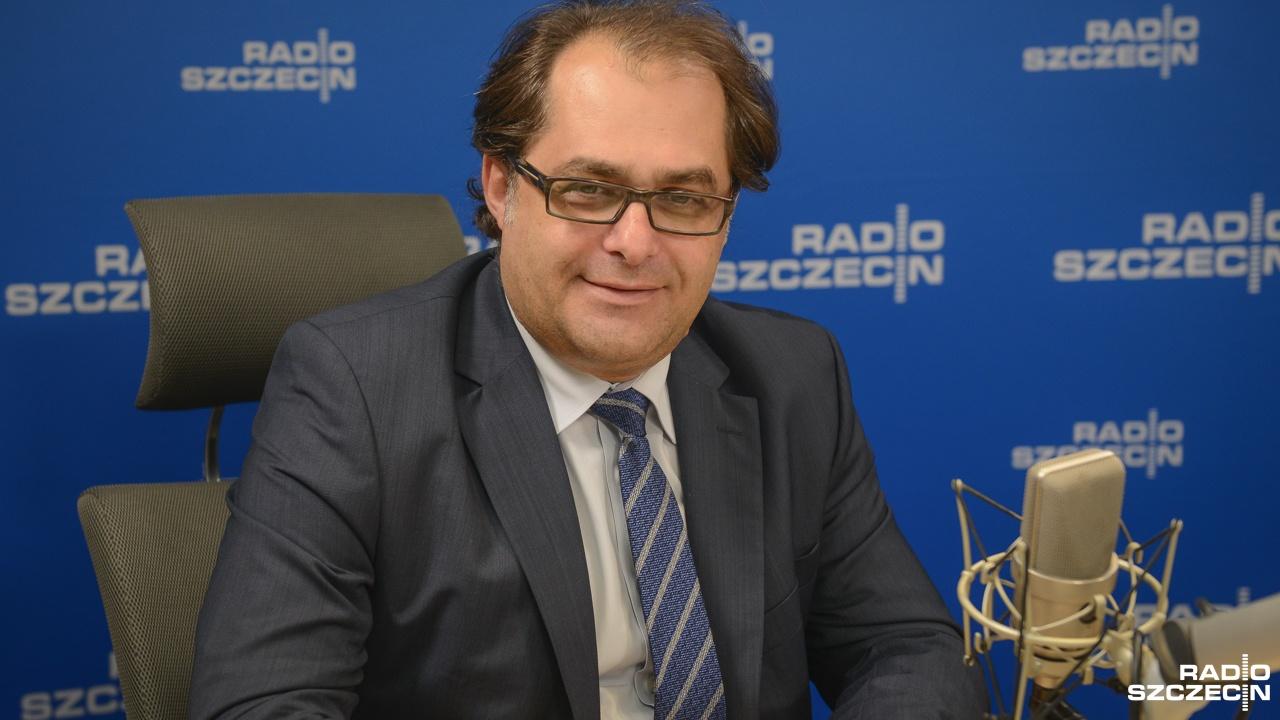 Marek Gróbarczyk. Fot. Jarosław Gaszyński [Radio Szczecin/Archiwum]