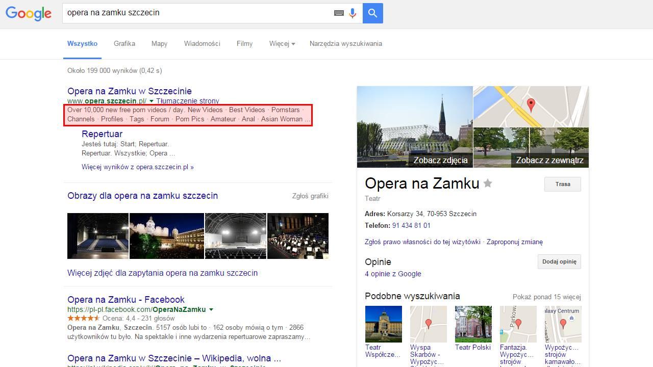 Porno atak na Operę na Zamku