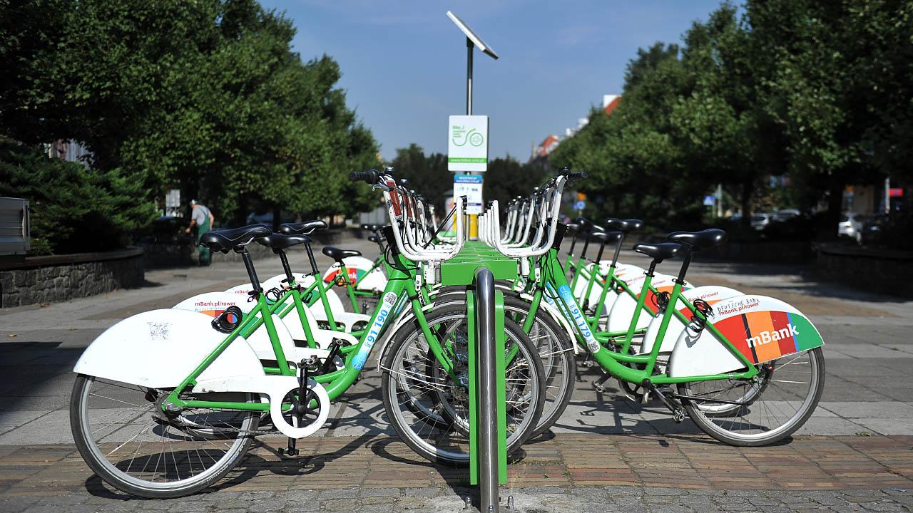 Więcej rowerów miejskich w Szczecinie. Zobacz nowe stacje [MAPY]
